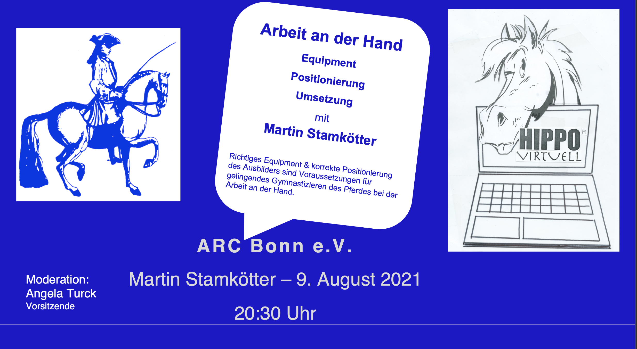 Read more about the article Hippo virtuell — Arbeit an der Hand am 9. August 2021